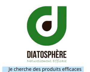 3) Produits professionnels naturels diatosphere